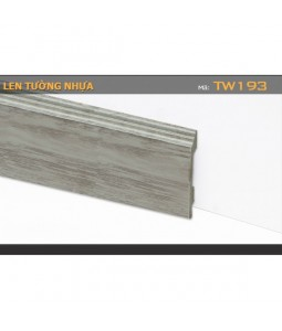 Plastic skirting TW193