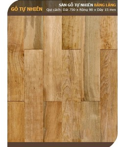 Lagerstroemia wood flooring 750mm