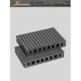 Sàn gỗ Exwood ED145x25-darkgrey