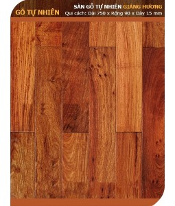 Padouk hardwood flooring 750mm