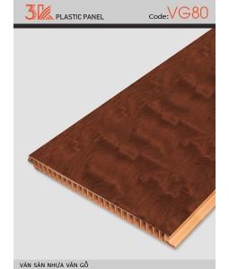 3K wood grain plastic flooring VG80