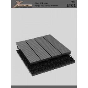 Exwood Decking Title ET01 Darkgrey