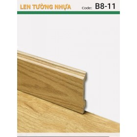 Plastic skirting B8-11