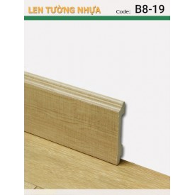 Plastic skirting B8-19