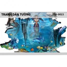 Ocean 3D wall paintings DH-0015