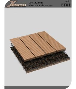 Vỉ Gỗ Nhựa Exwood ET01 Wood