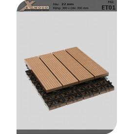 Exwood Decking Title ET01 Wood