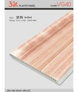 3K wood grain plastic flooring VG40