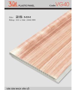 3K wood grain plastic flooring VG40