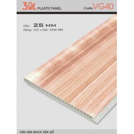 Ván sàn nhựa vân gỗ 3K VG40