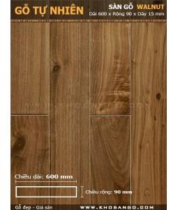 Walnut hardwood flooring 600mm