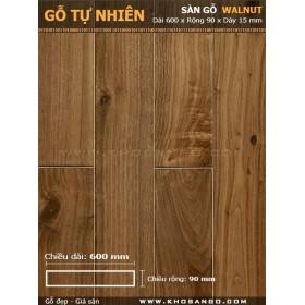Sàn gỗ  Walnut ( óc chó ) 600mm