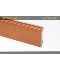 Plastic skirting L76-12