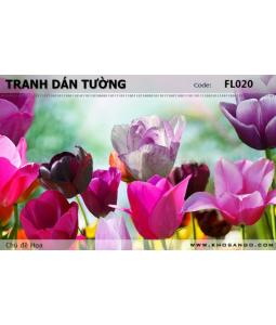 Flower wallpaper FL020