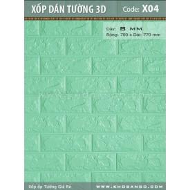 Xốp dán tường 3D X04
