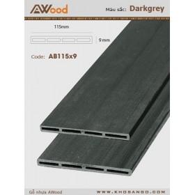 AWood AB115x9 Darkgrey