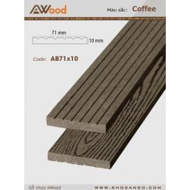 AWood AB71x10 Coffee