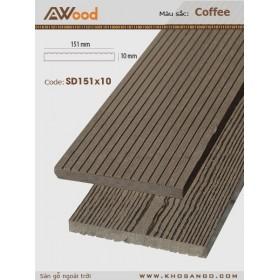 AWood SD151x10 Coffee