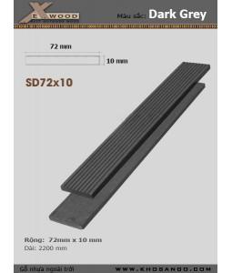 Exwood SD72x10-darkgrey