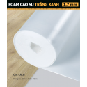 White Foam Rubber Blue1.7 mm