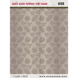 Giấy dán tường Việt Nam 658