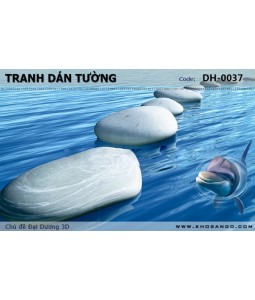 Ocean 3D wall paintings DH-0037