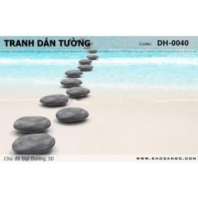 Tranh dán tường Đại Dương 3D DH-0040