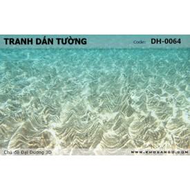 Tranh dán tường Đại Dương 3D DH-0064