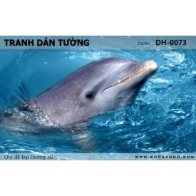 Tranh dán tường Đại Dương 3D DH-0073