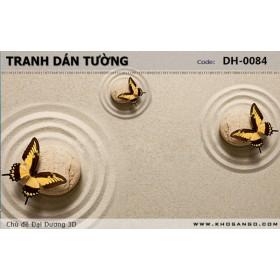 Tranh dán tường Đại Dương 3D DH-0084