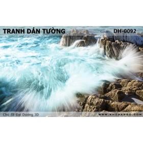Tranh dán tường Đại Dương 3D DH-0092