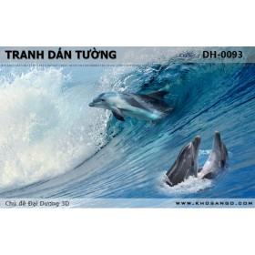 Tranh dán tường Đại Dương 3D DH-0093