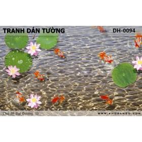Tranh dán tường Đại Dương 3D DH-0094