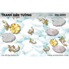 Tranh dán tường Đại Dương 3D DH-0099
