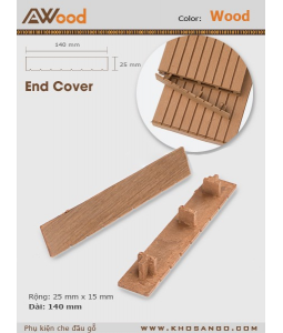 AWood End Cover Wood