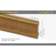Plastic skirting TW312
