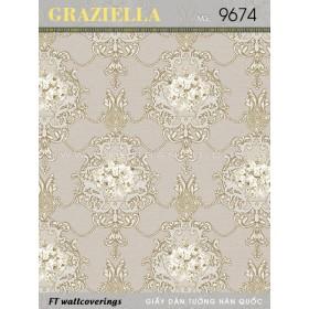 Giấy dán tường GRAZIELLA 9674