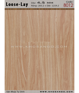 Loose-Lay Flooring 8012
