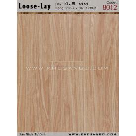 Sàn nhựa Loose-Lay 8012