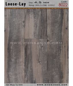 Loose-Lay Flooring 8022