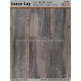 Sàn nhựa Loose-Lay 8022