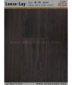 Loose-Lay Flooring 8024