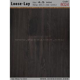 Sàn nhựa Loose-Lay 8024