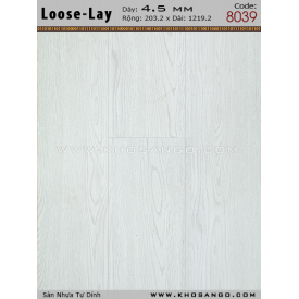 Sàn nhựa Loose-Lay 8039
