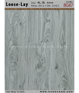 Loose-Lay Flooring 8047