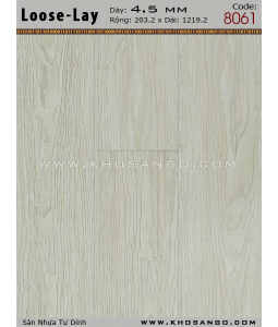 Loose-Lay Flooring 8061