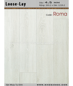 Loose-Lay Flooring Roma