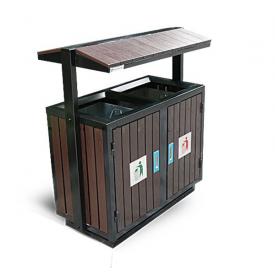 Recycle bin outdoor TRD02-GI