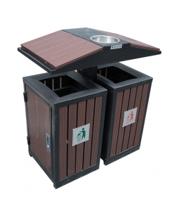 Recycle bin outdoor TRD01-GI