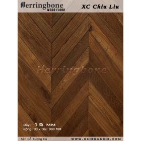 Senna siamea herringbone flooring